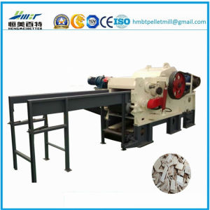 High Efficiency Drum Type Electric Wood Chipper Shredder Machine pictures & photos