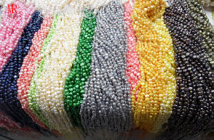 6-7mm AA Nugget Pearl Strand pictures & photos