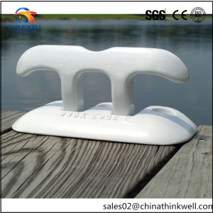 """6"""" Painted Polished Dock Edge Flip up Dock Cleat pictures & photos"""