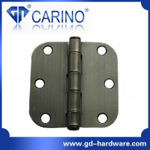 (HY806) Door Hinge Round Corner Square Hinge pictures & photos