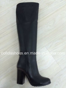 Updated Fashion Comfort High Heels Women Sexy Warm Boots pictures & photos