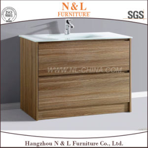 2017 N&L Modern MDF Bathroom Vanity Cabinet with Melamine pictures & photos