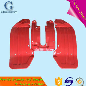 Powder Coating Iron Parts Snow Blower Fenders pictures & photos