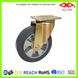 200mm Swivel Plate Heavy Duty Caster (P160-73F200X50) pictures & photos