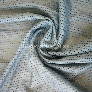High Quality Comfortable and Breathable Nylon Mesh Lycra Mesh Fabric pictures & photos