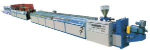 PVC PP PE Wood Plastic Profile Extruding Machine pictures & photos
