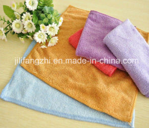 Mircofiber Towel Plain Deyd Towel Hand Towel/Hotel Towel
