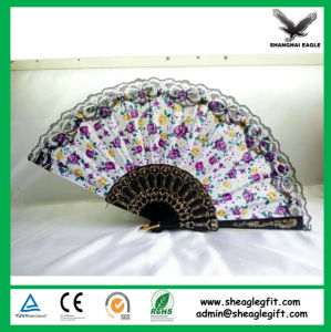 Custom Printed Folding Plastic Fans pictures & photos