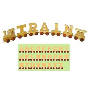 Wooden Toy Train Alphabet (28PCS) (80095) pictures & photos