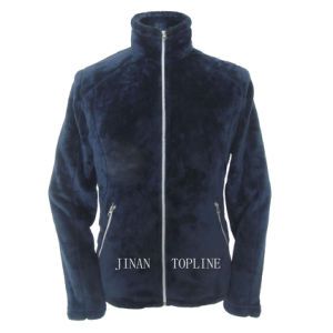Ladies Fashion Fake/Faux Fur Thermal Casual Jacket pictures & photos