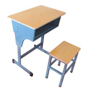 Simple Cheap Wooden Single School Furniture