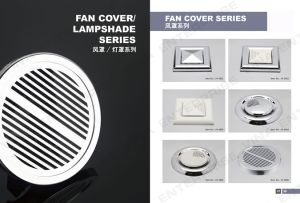 Fan Cover for Shower Room Accessory