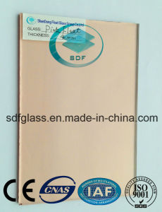 Pink Float Glass with Ce, ISO 4mm to 6mm