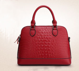 Europe Style Hot Brand Name Designer Cocrodile Ladies Hand Bag (950052) pictures & photos