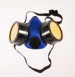 Fd-2 Double Cartridges Gas Preventive Mask with Active Carbon Filter pictures & photos