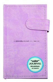 Hot Sale Hardcover PU Leather Journal Notebook with Closure pictures & photos
