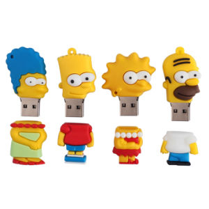 Simpson Family USB Flash Drive Cartoon USB Flash Drive Pen Drive Pendrive 8g/16g/32g/64G Memory Stick USB Stick Free Shipping pictures & photos
