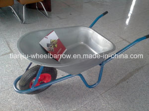 Russia Model Hot Sale Construction Wheelbarrow Wb5008 pictures & photos