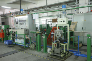 Chemical Foam Extrusion Line pictures & photos
