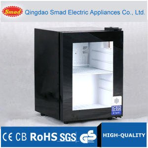 Glass Door Mini Refrigerator Display Cooler with CE, RoHS pictures & photos
