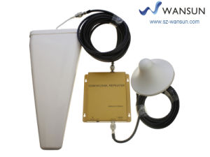 Dual Band 900/2100MHz Cell Phone Signal Booster Repeater Mobile Amplifier 17c29p2 Wansuntone