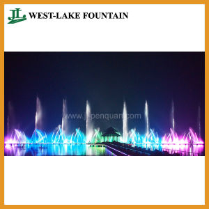Large Music Colorful Dancing Floating Fountain for Lake pictures & photos