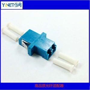 Fiber Optic LC Connector Duplex Adaptors with Special Dust Cap pictures & photos