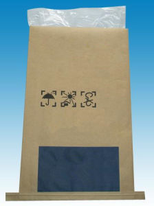 Moistureproof Kraft Paper Thin Film Composite Bag for Polypropylene pictures & photos