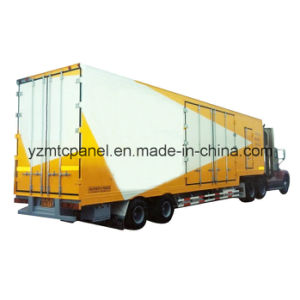 Bright Appearance FRP Refrigerated Truck pictures & photos
