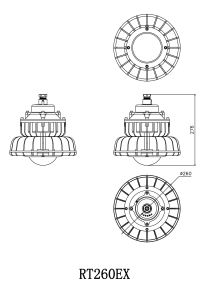 CE, Exd Iic T6 Gh High Power LED Explosion Proof Light pictures & photos