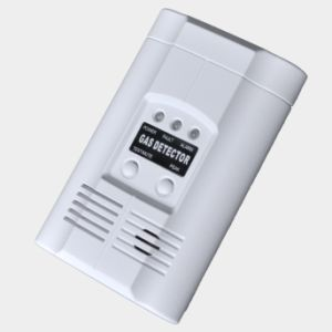 Gas Detector for AC Powered Plug-in Fire Alarm