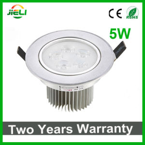 Factory Outlet 5W AC85-265V Recessed LED Ceiling Light pictures & photos