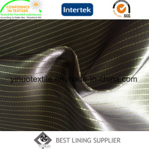 Hot Sale 100% Polyester Satin Lining for Men′s Suit Jacket pictures & photos