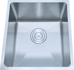 Handmade Single Sink, Samll Radius R19, Stainless Steel Sink pictures & photos