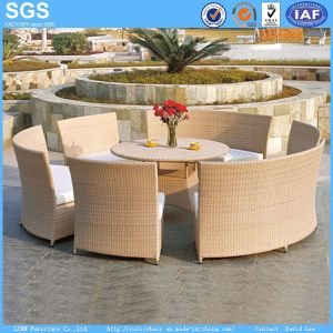 Good Quality Garden Furniture Round Rattan Dining Set pictures & photos