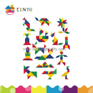 Plastic Tangram Puzzle Toy for Education (K008) pictures & photos
