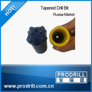 Mining Quarrying Drilling Jackhammer Tapered Button Bit pictures & photos