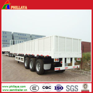 Bulk Cargo Semi Box Trailer with 1.2m High Walls Removable pictures & photos