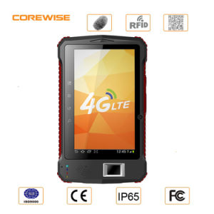 4G Lte WiFi Biometric Fingerprint Android Tablet for Time Attendance