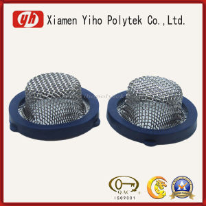 High Quality Competitive Black Metal Nitrile Rubber Cap pictures & photos