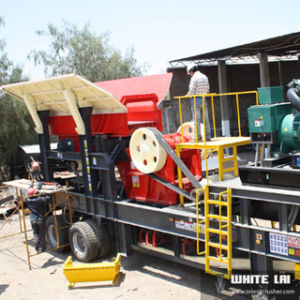 Mobile Jaw Rock Crusher Plant pictures & photos