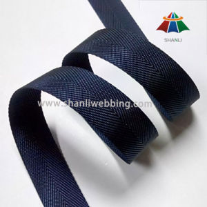 7/8 Inch Hurringbone Nylon Webbing Binding Tape pictures & photos