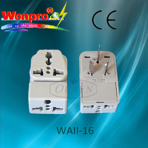 Universal Travel Adaptor-WAII-16(Socket, Plug) pictures & photos