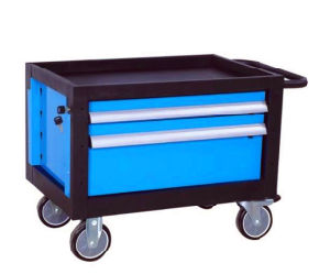 2 Drawers Practical Trolley Tool Cart (FY18) pictures & photos