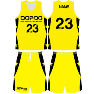 Custom Design Sublimated Basketball Jersey Uniform for Team pictures & photos