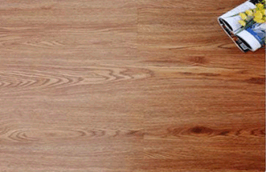 Indoor and Commercial Wood Grain Interlocking Lvt PVC Vinyl Floor pictures & photos