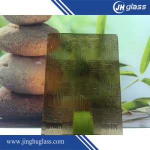 Popular 4mm Various Decorative Patterned Glass pictures & photos