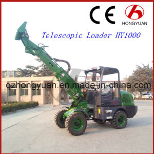 New Design 1.0ton Rated Loading Weight Hy1000 Telescopic Loader pictures & photos