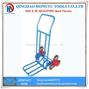 Ht1312 Stair Climbing Hand Truck/Hand Trolley pictures & photos