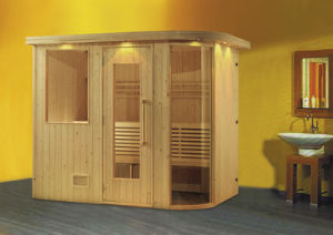 Portable Wooden Dry Sauna Room pictures & photos